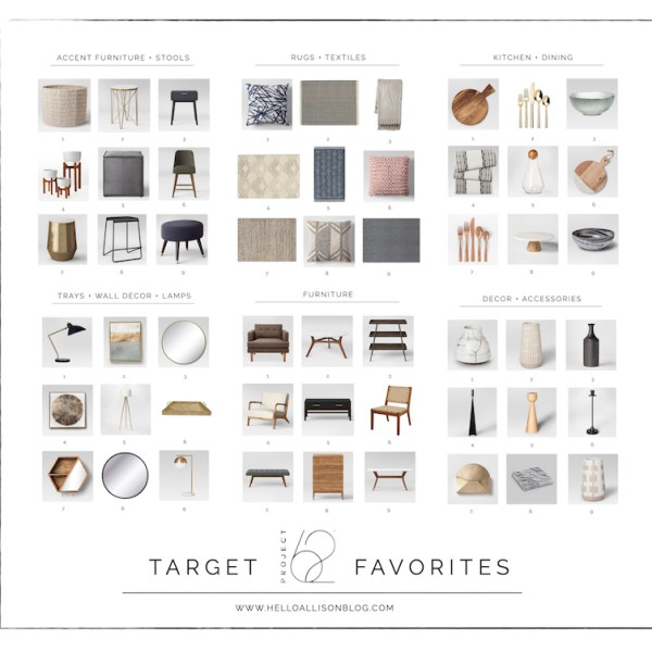 Target's Project 62 Favorites - Target Thursday | designedsimple.com