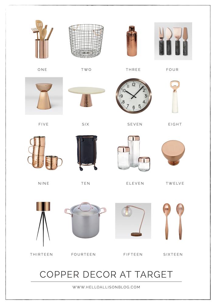 Copper Decor | designedsimple.com