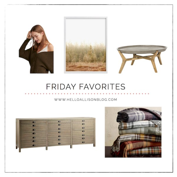 Friday Favorites for Fall | designedsimple.com