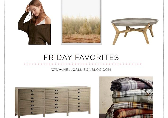 Friday Favorites for Fall   designedsimple.com