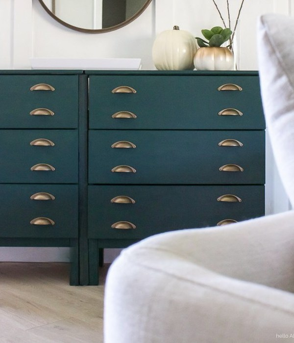 Painted Ikea Dresser