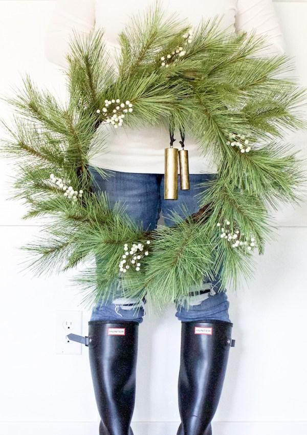 Modern Farmhouse Christmas Wreaths