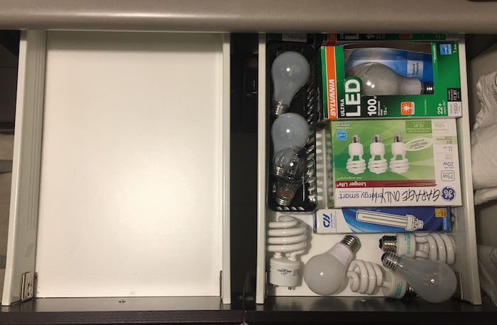 10 Days to an Organized Clutter Free Home | Organizing Junk Drawer + Misc Storage | designedsimple.com