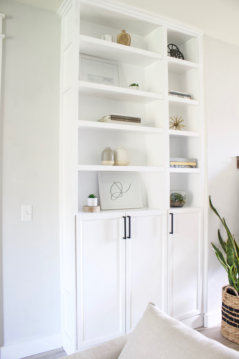 Diy Built Ins Ikea Billy Bookcase Hack Designed Simple