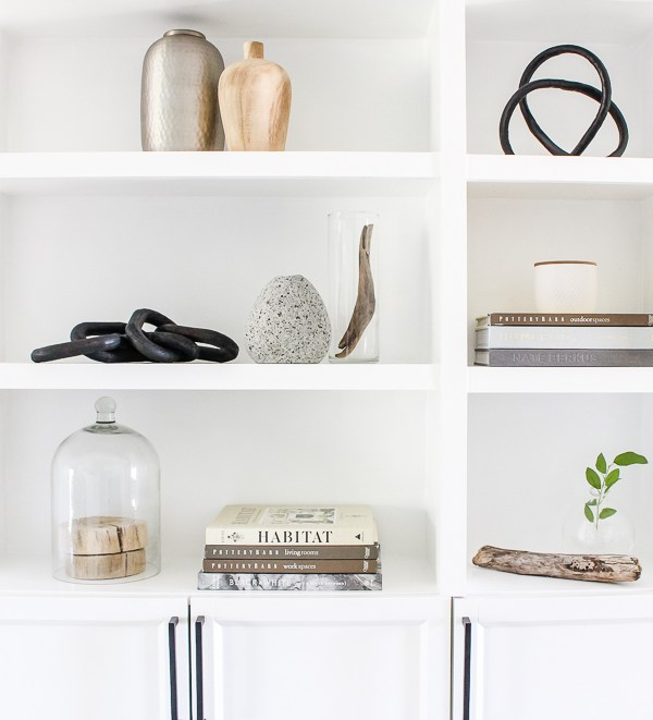 5 Tips for Shelf Styling