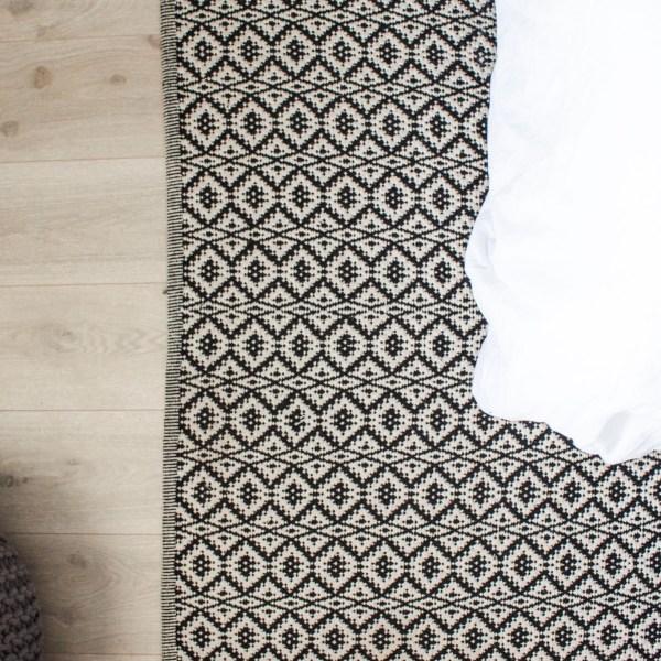 Black & White Rugs | Designed Simple | designedsimple.com