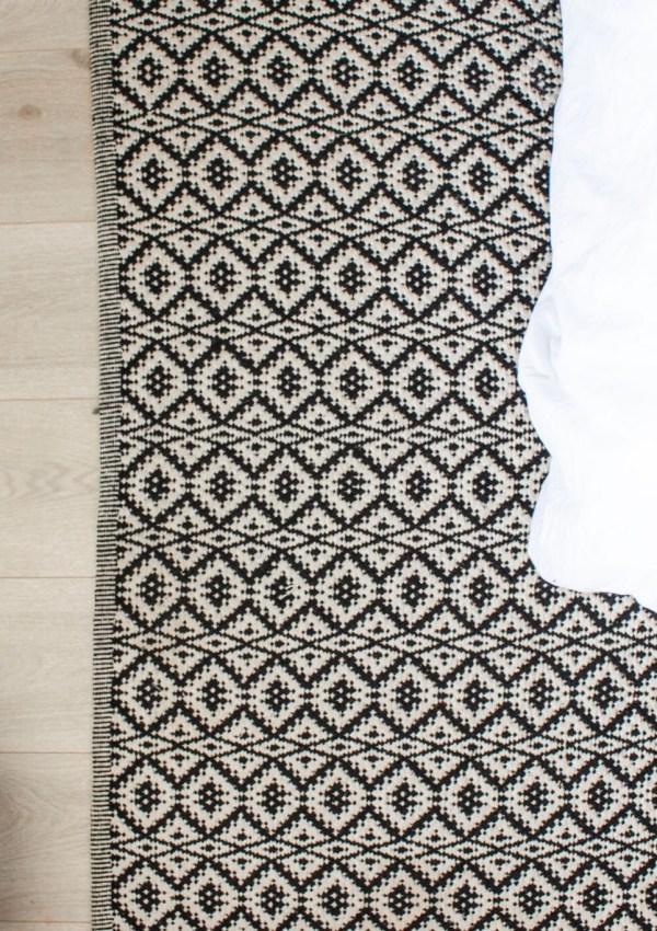 Bold Black & White Rugs