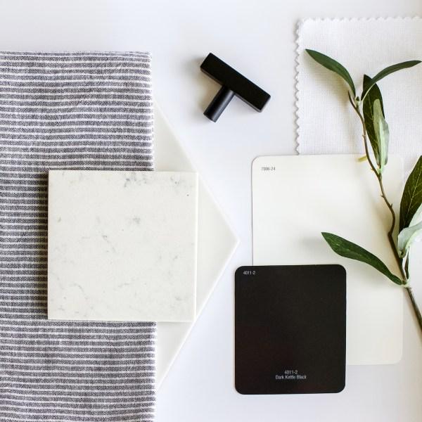 Budget Friendly Guest Bath Update | One Room Challenge | Fall 2019 | Week 1 | Designed Simple | designedsimple.com