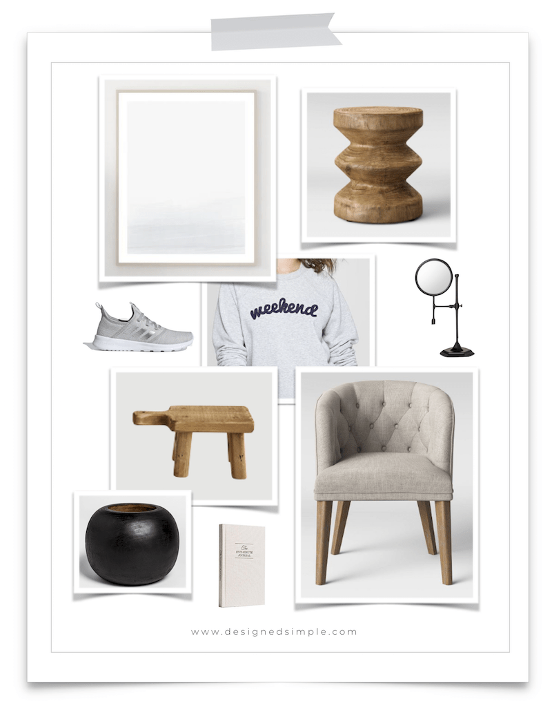January Favorites   Cute wood accents, beautiful art, and comfy shoes & sweaters!   Designed Simple   designedsimple.com