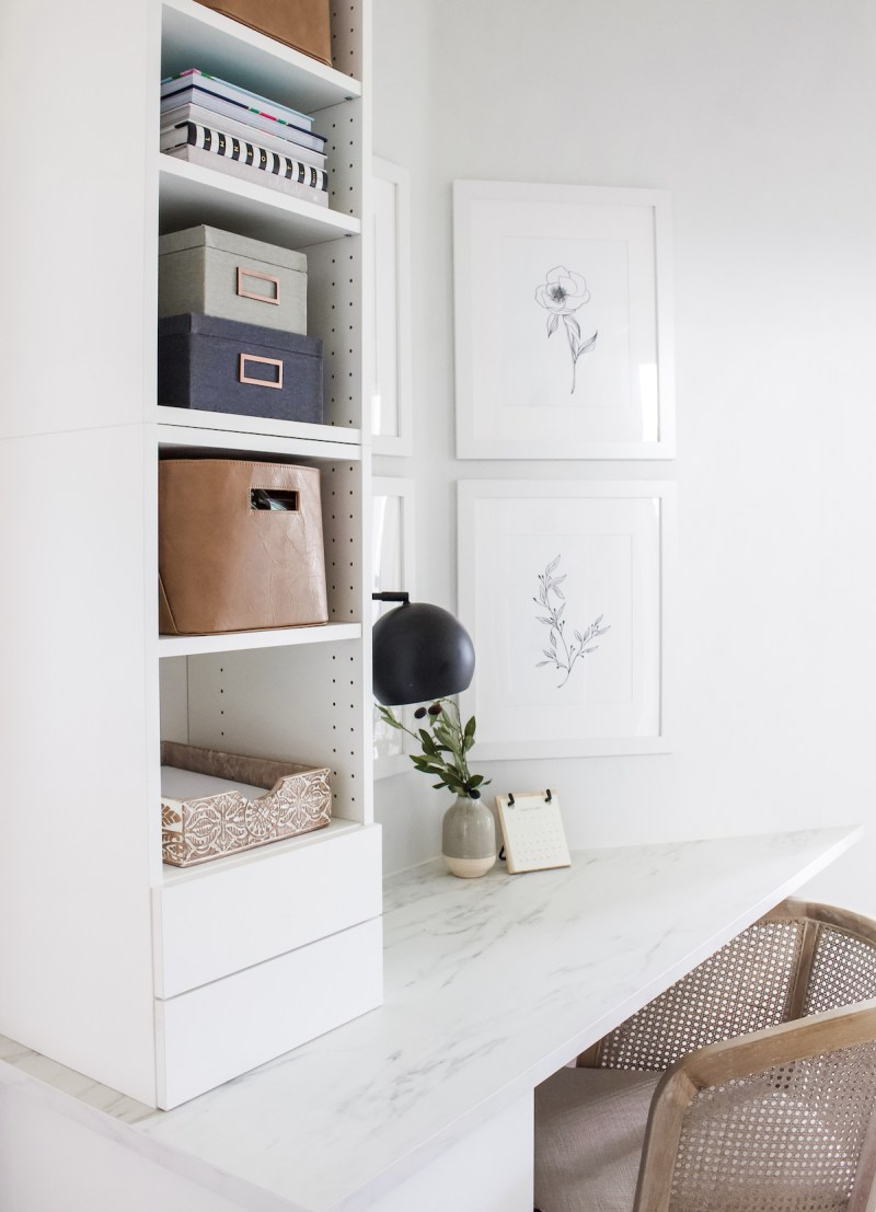 Designed Simple Office Sources | Shop the House | Small Home Office | designedsimple.com