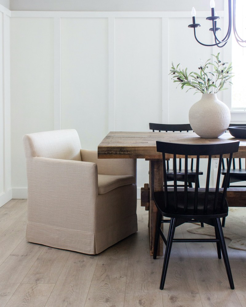 Designed Simple House Tour | California Farmhouse Dining Room | designedsimple.com