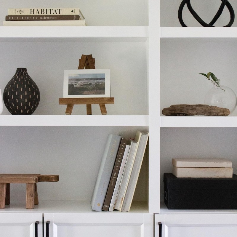 5 Scrap Wood Projects | Clear out your garage and DIY a few items for the house using tools & supplies you already have! | Designed Simple | designedsimple.com