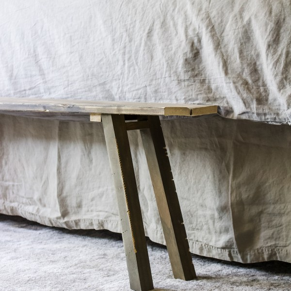 DIY Chinese Bench | Create your own popular decor item for a fraction of the price! | Designed Simple | designedsimple.com