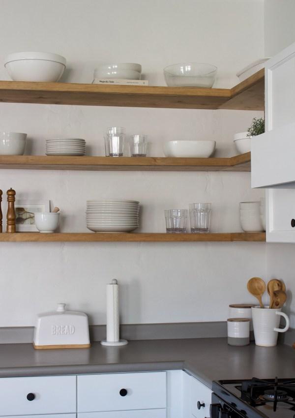 Favorite Kitchen Decor for Open Shelves