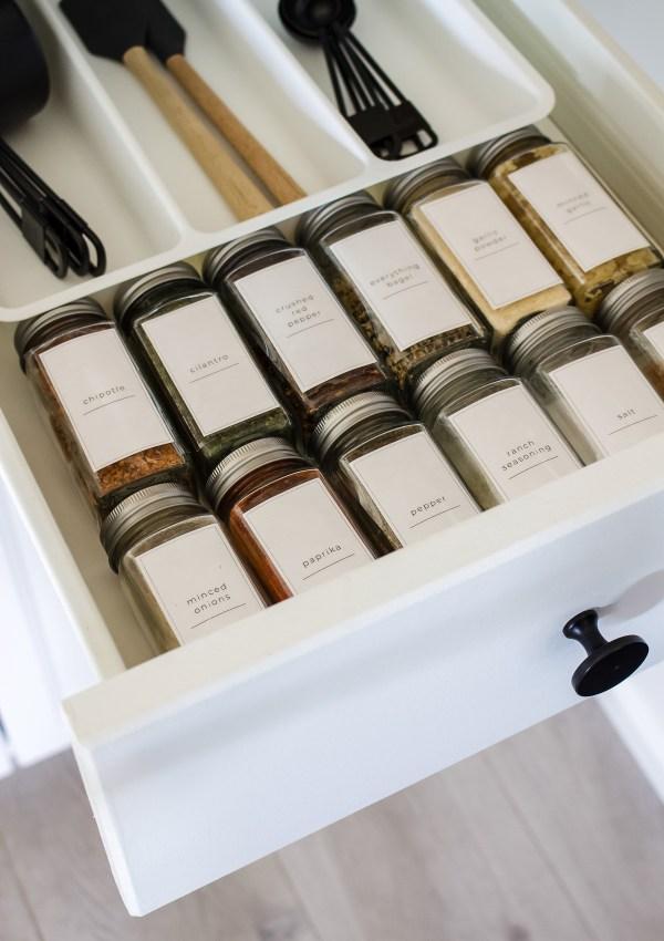 DIY Pantry & Spice Labels