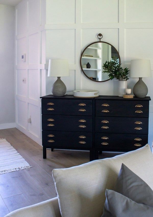 16 Black Cabinets & Console Tables