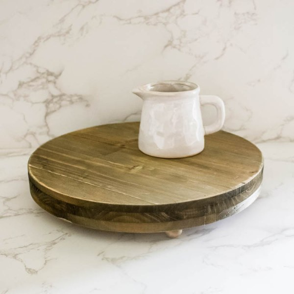 SHOP NOW - This round wood pedestal tray is perfect for displaying. Simple, stylish, and versatile, it's perfect for any room of the house.   Designed Simple