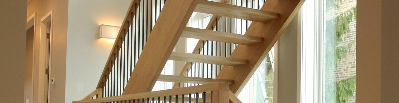 Open Staircase Styles Designed Stairs | Prefab Oak Stair Treads | Hardwood Flooring | Wood Flooring | Wood Stair | Solid Oak | Risers