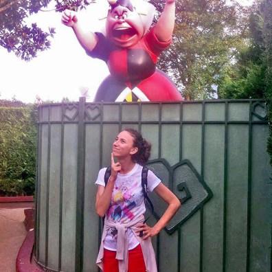 Disneyland Paris - Labirintul lui Alice - Regina