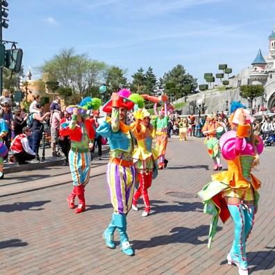 Spectacol la Disneyland
