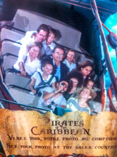 Pirates fo the Caribbean, Disneyland Paris