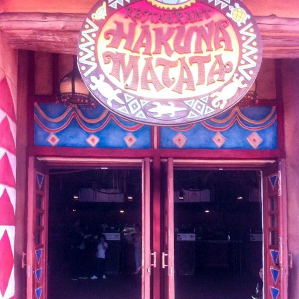 Hakuna Matata, Disneyland