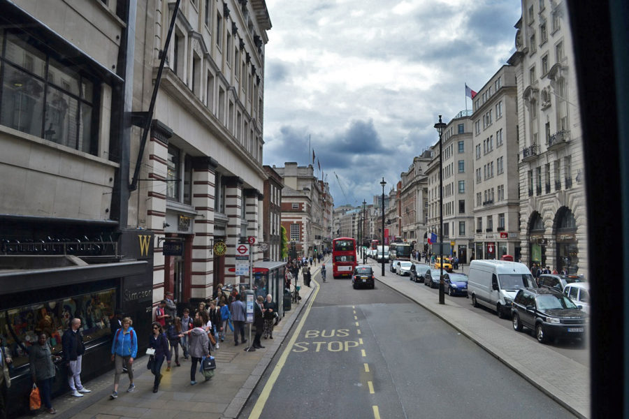 Transportul în Londra