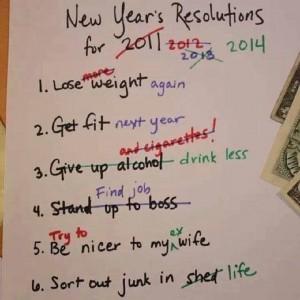 Rezolutii. De fapt gânduri la început de an