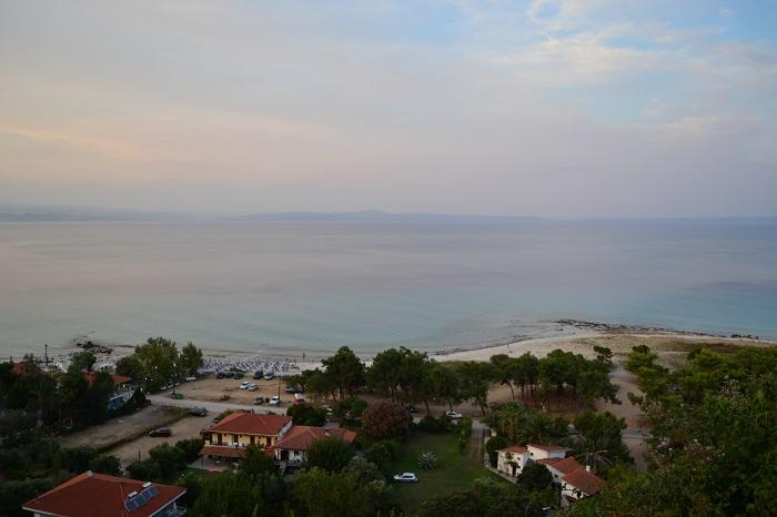 Plaje frumoase din Halkidiki - Afytos