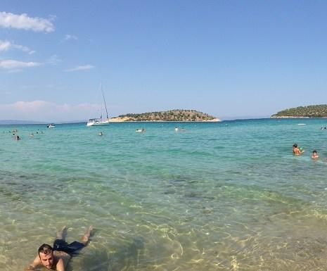 Plaje din Halkidiki - Lagonisi