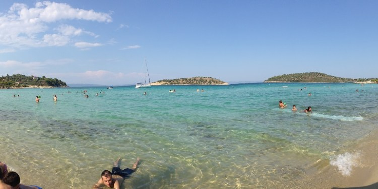 Plaje frumoase din Halkidiki