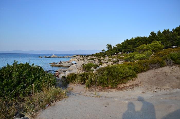 Plaje frumoase din Halkidiki - Orange Beach