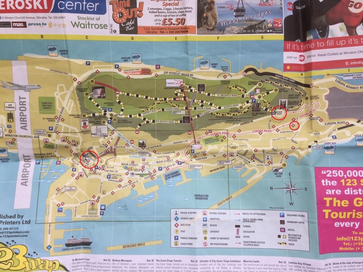 Harta Gibraltar