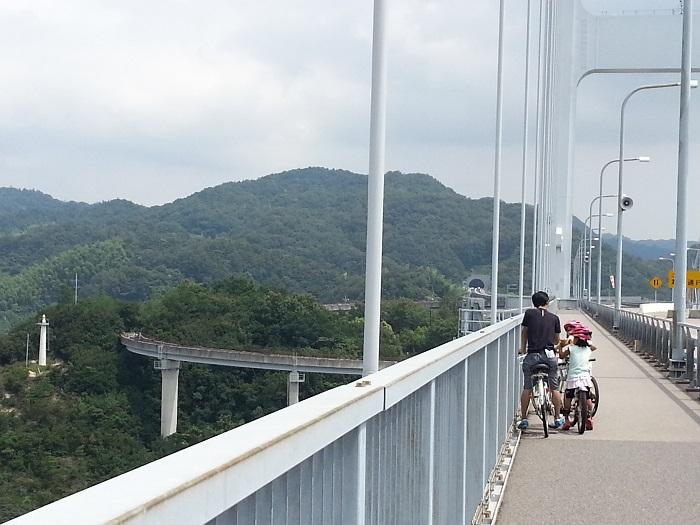 Japonia - La drum pe bicicleta