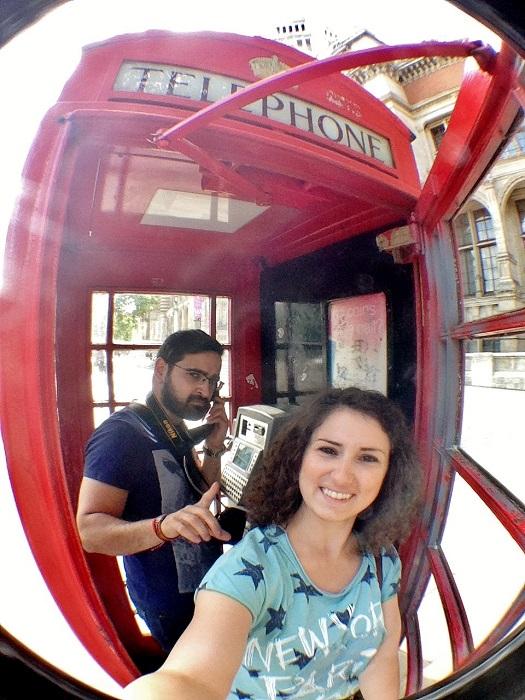 Londra - cabină telefonică