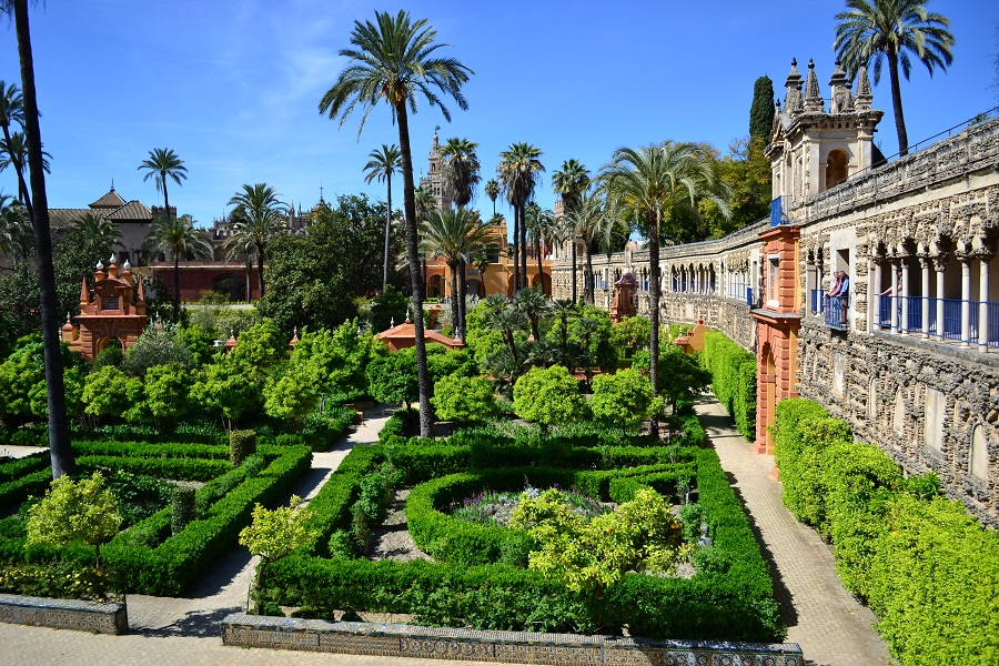 Alcazar de Sevilla, un palat desprins din Paradis