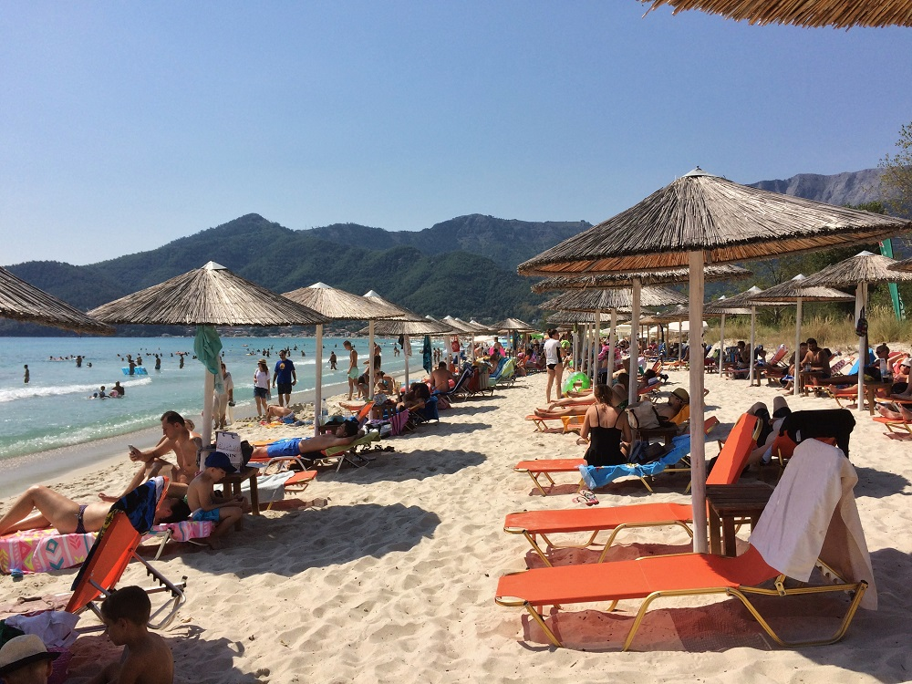 Golden Beach, Thassos