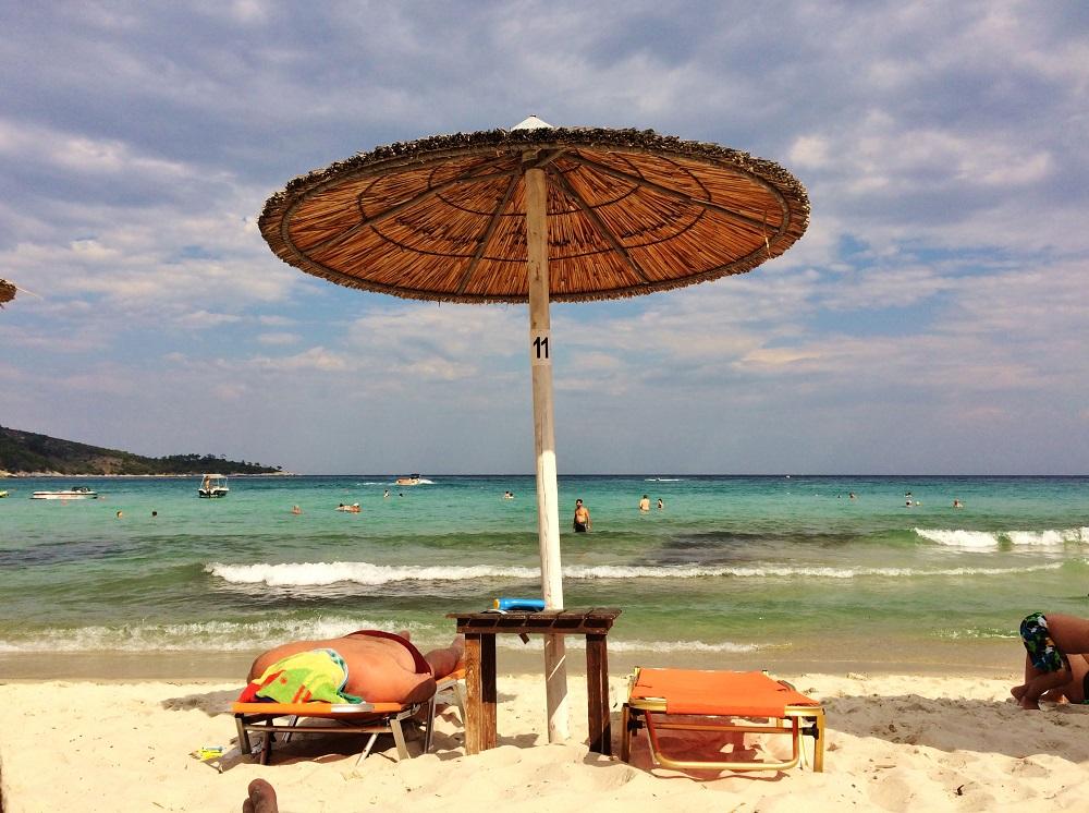 Golden Beach, Thassos