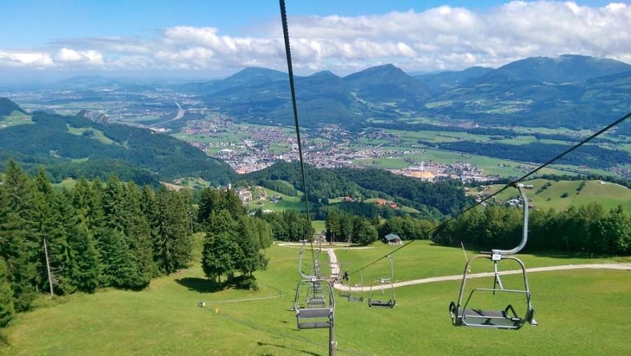 Aventuri la înălţime în Austria - Hallein Alpine Slide