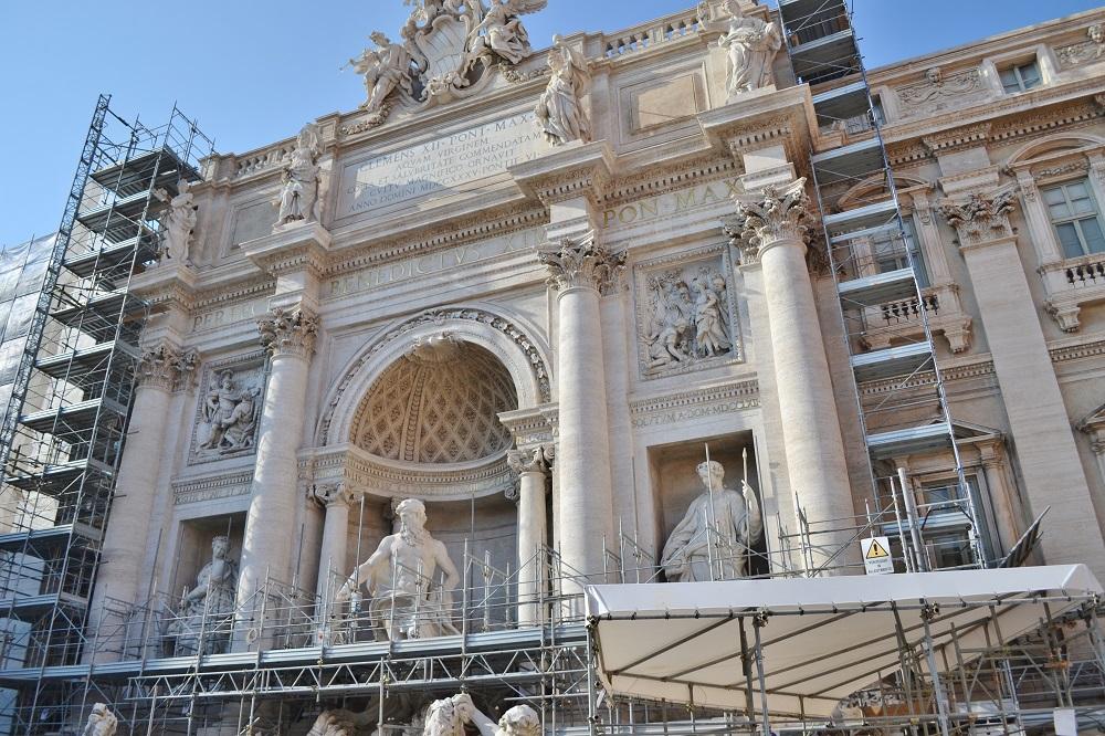 Piazza Trevi, Roma