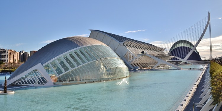The City of Arts and Sciences in Valencia, an architectural masterpiece