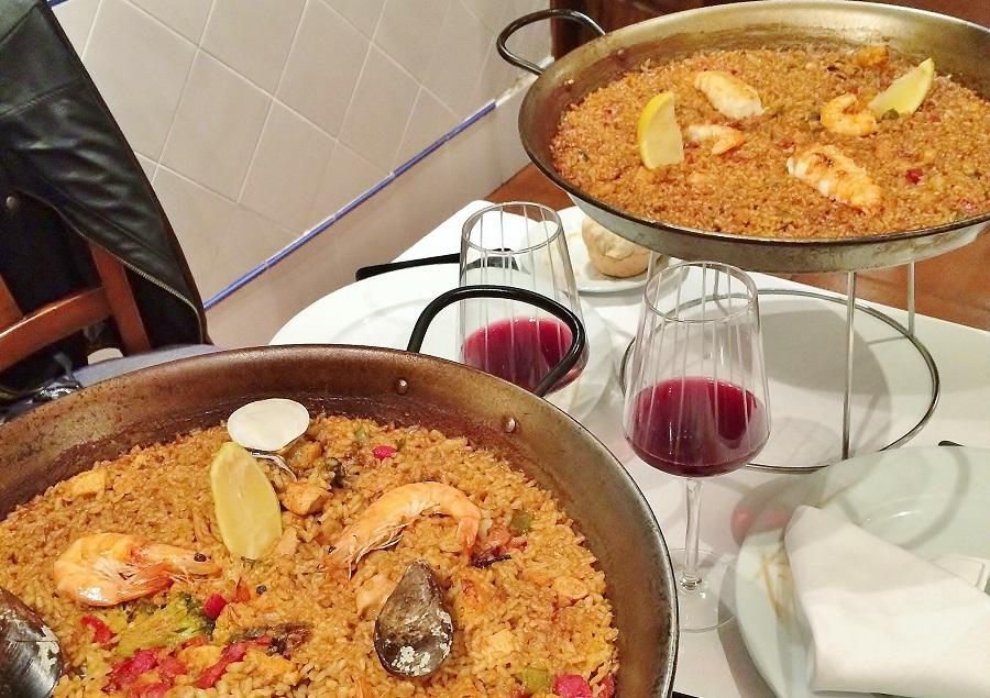 O cină cu fast în Bilbao, Spania