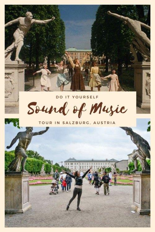 DIY Sound of Music Tour in Salzburg, Austria