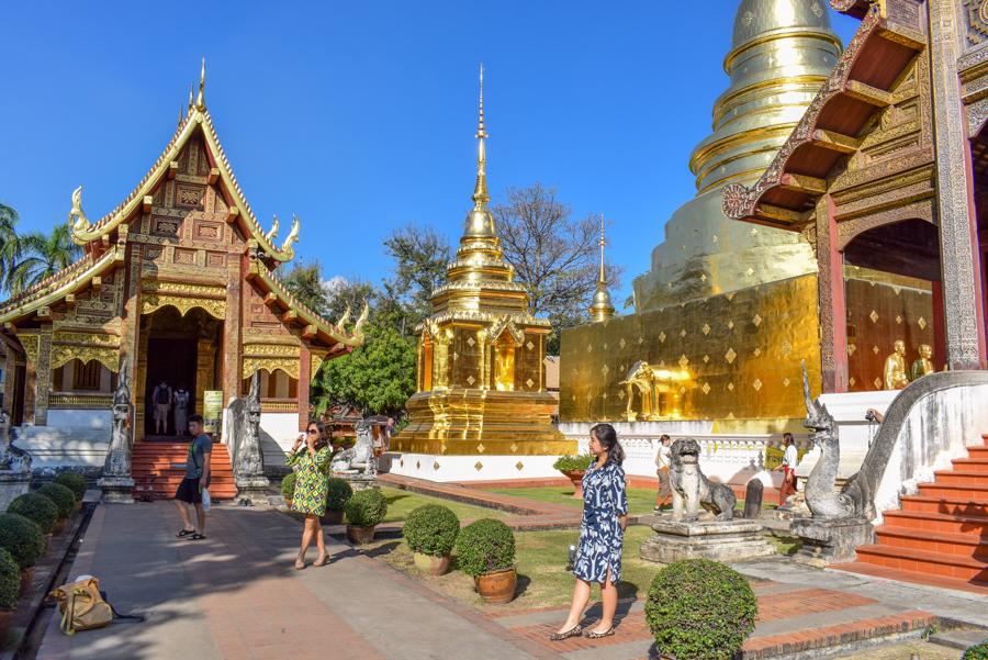 Wat Phra Singh - Temple din Chiang Mai