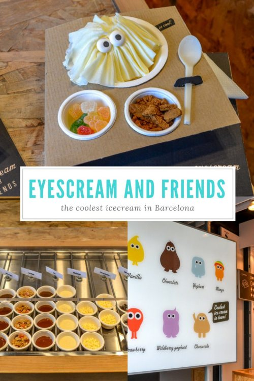 Eyescream and friends - the coolest icecream in Barcelona