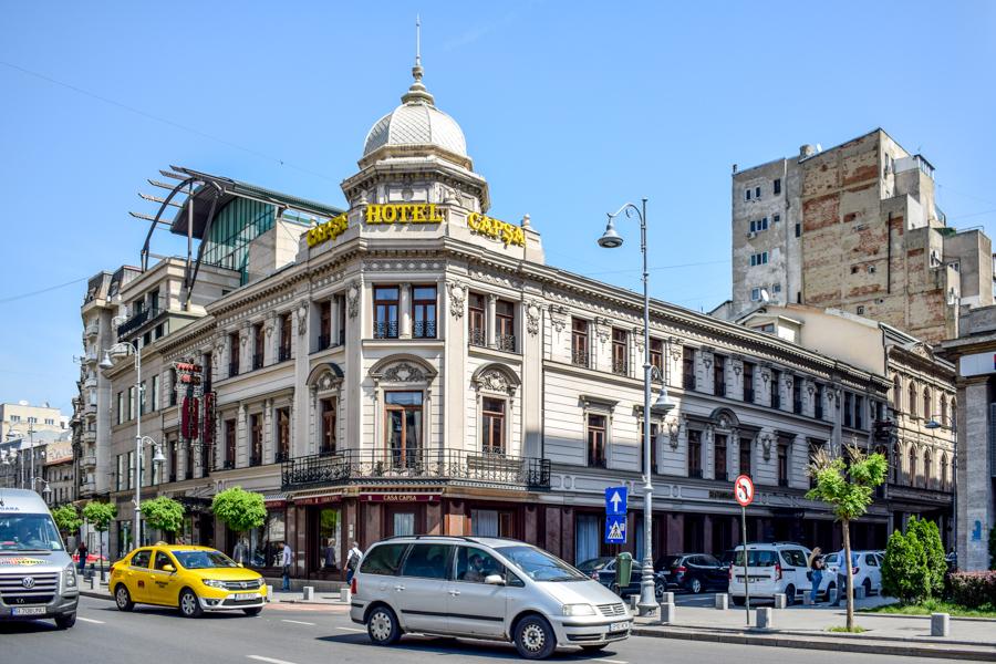 La pas pe Calea Victoriei - obiective în București - Casa Capșa