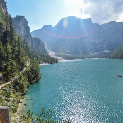 Trasee ușoare în Dolomiți - Lago di Braies