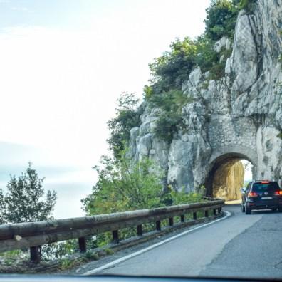 Lago di Garda - strada della fora