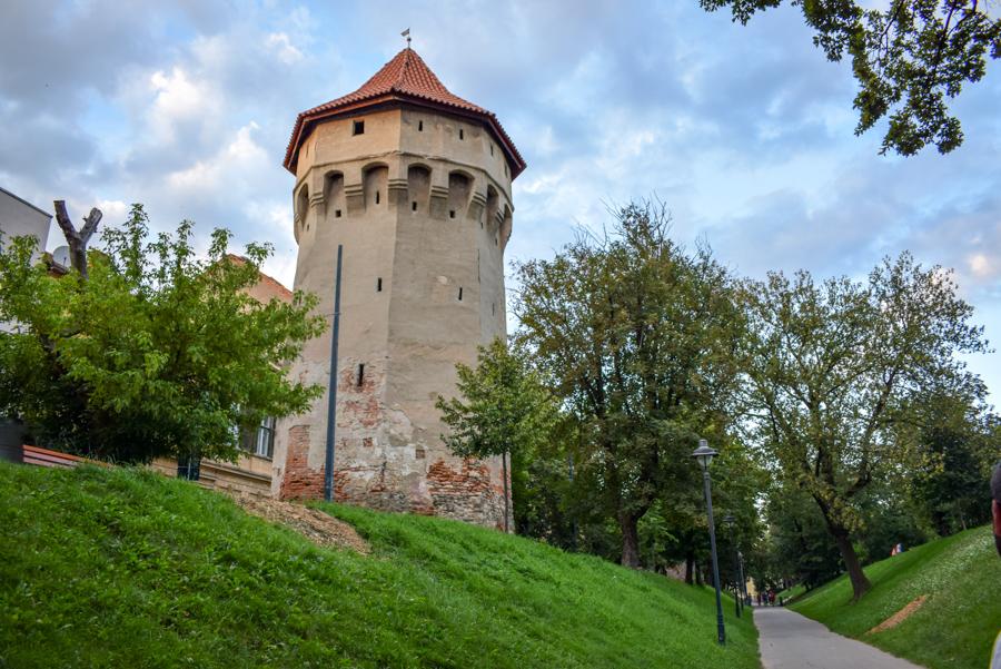 Sibiu, Romania - turnul archebuzierilor