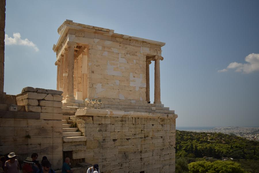 Obiective în Atena - Templul zeiței Atena Nike